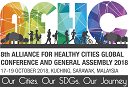 Welcome to 8th Alliance for Healthy Cities 2018 17th - 20th October 2018, Kuching, Sarawak, Malaysia.